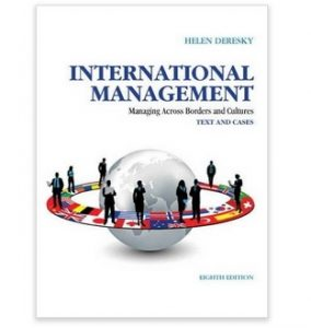 International Management - managing across borders and cultures