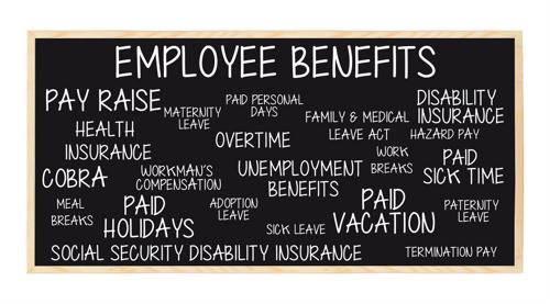 How do workers feel about their benefits?